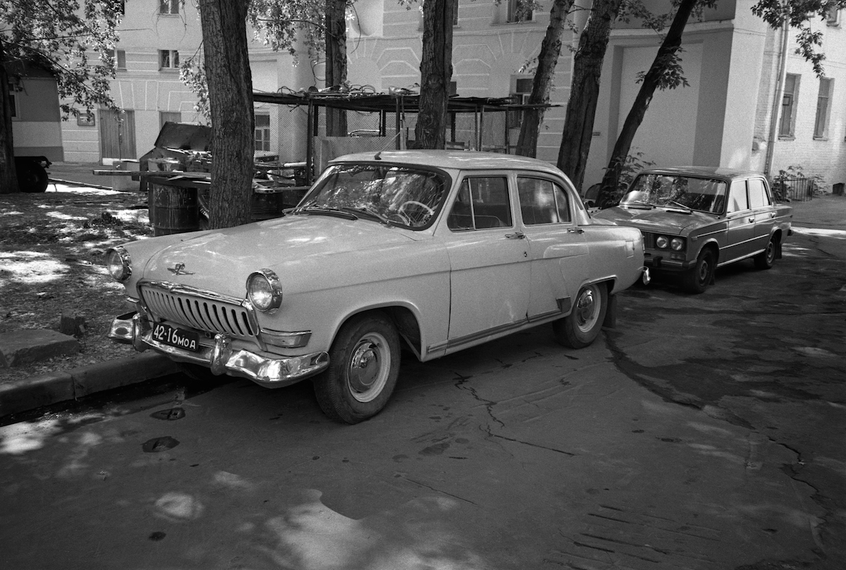 One of the most luxurious Soviet cars.