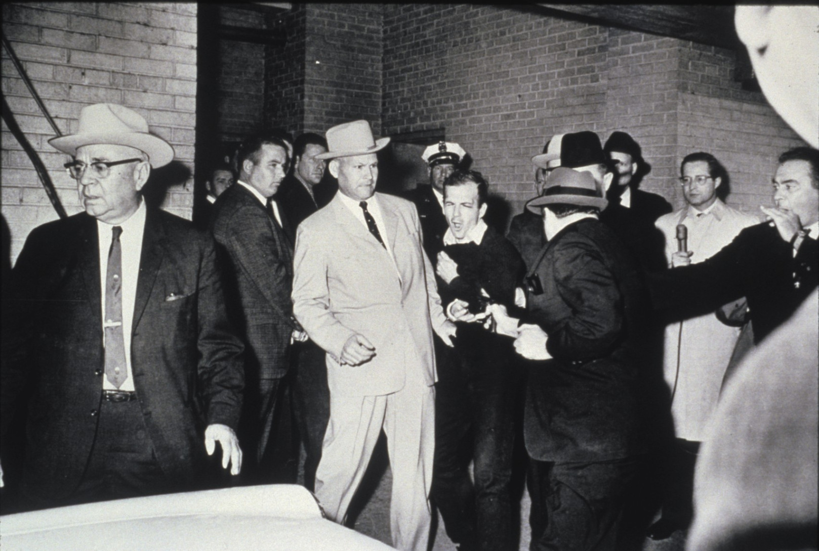 Robert H. Jackson for his photograph 'Murder of Lee Oswald by Jack Ruby'