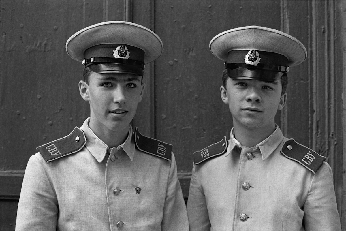 Students of the Military School