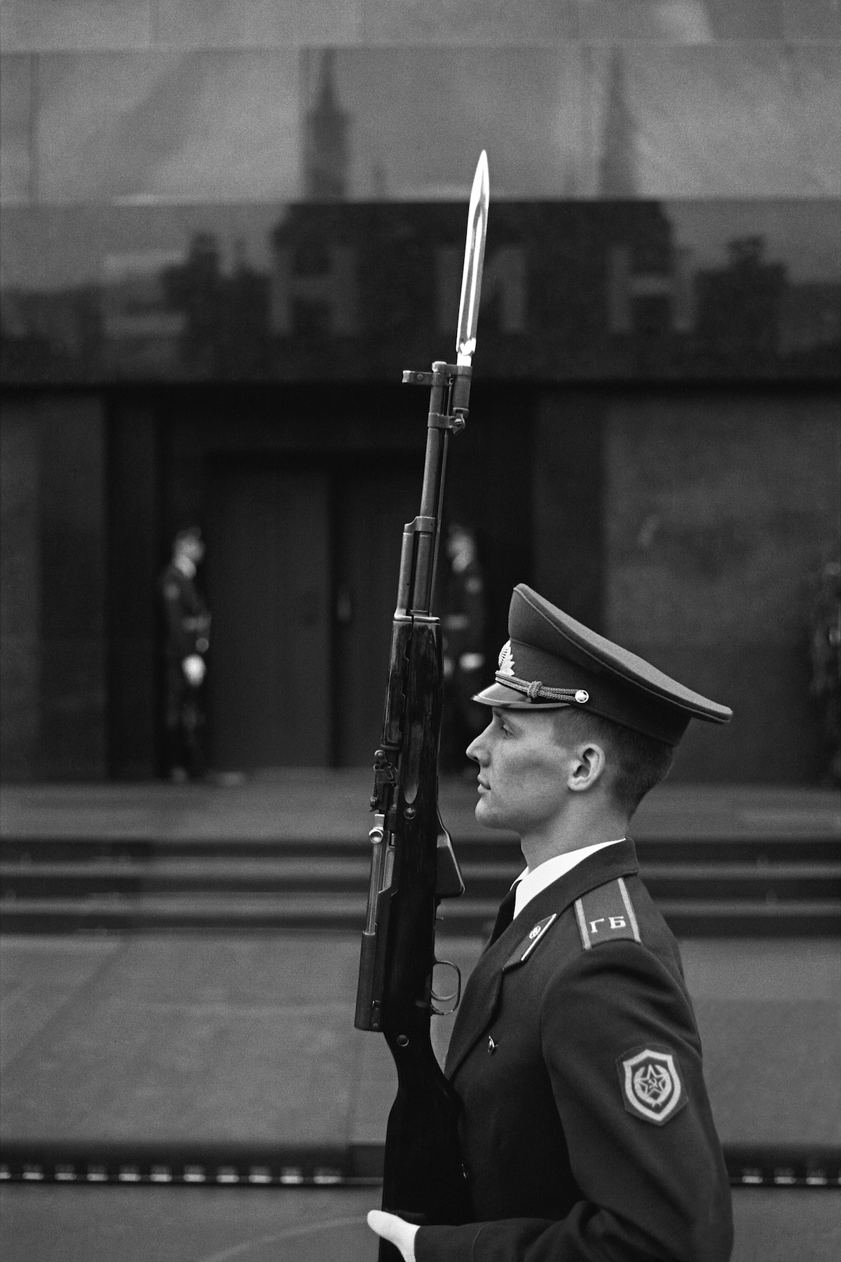 The guard on the Red Square