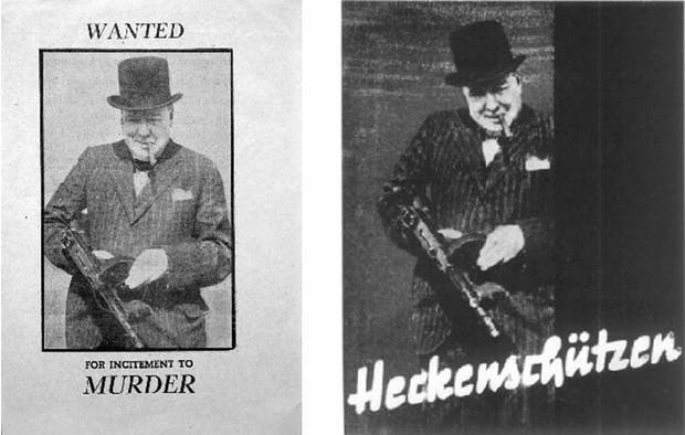 The British leader and the Nazi propaganda