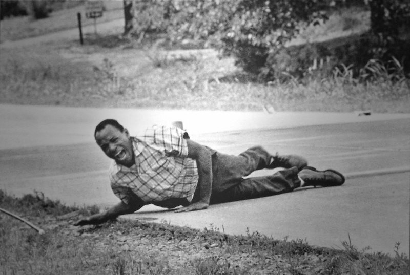 The photo of the shot James Meredith, 1967
