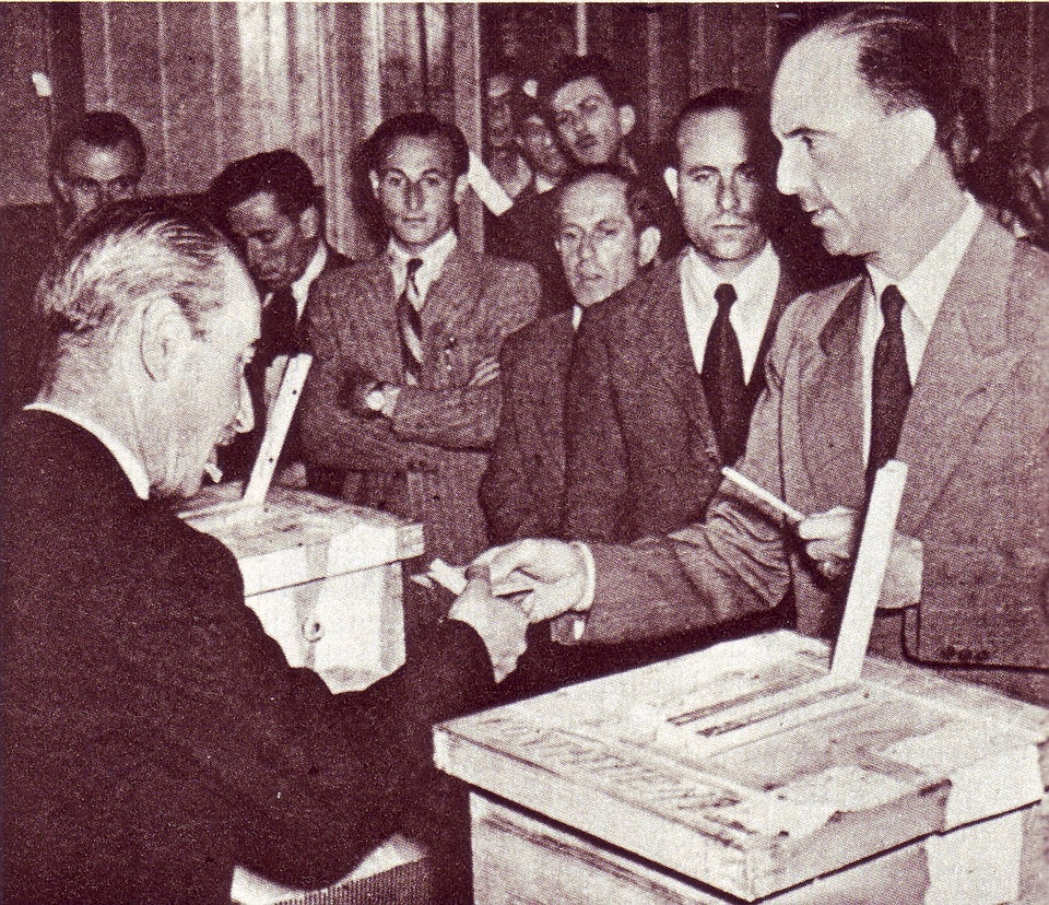 Umberto II, King of Italy during the Referendum of 1946