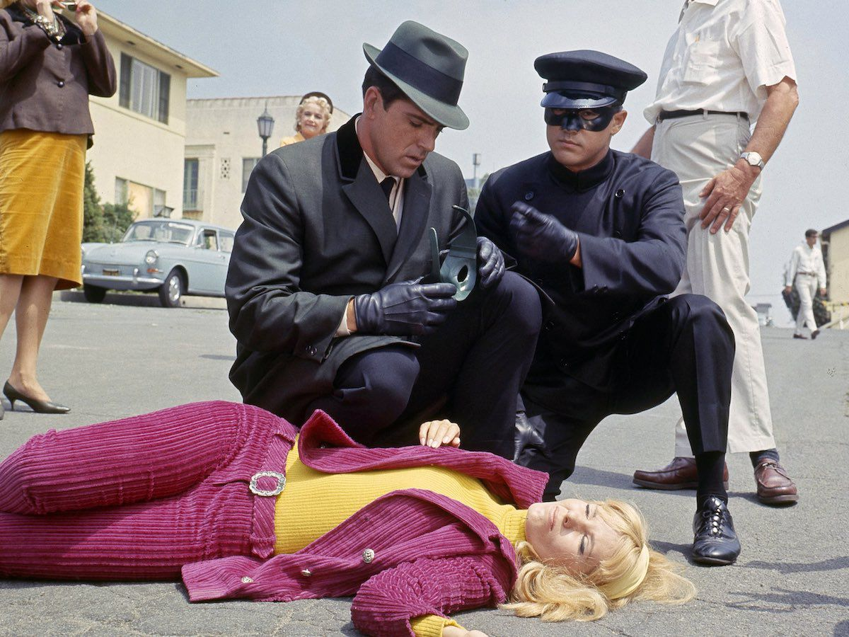 Another Batman scene with Bruce Lee