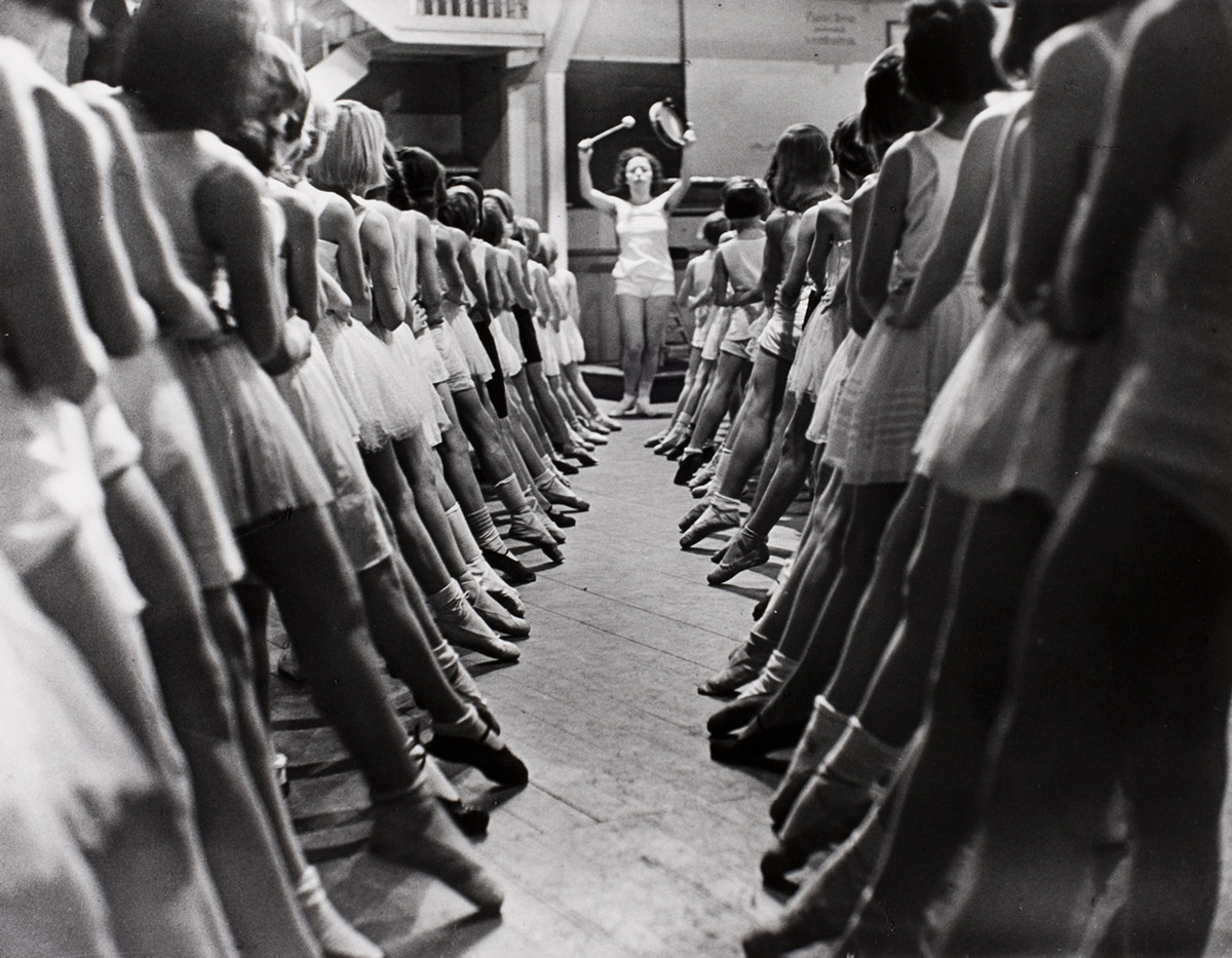Ballet School in Berlin, 1931.