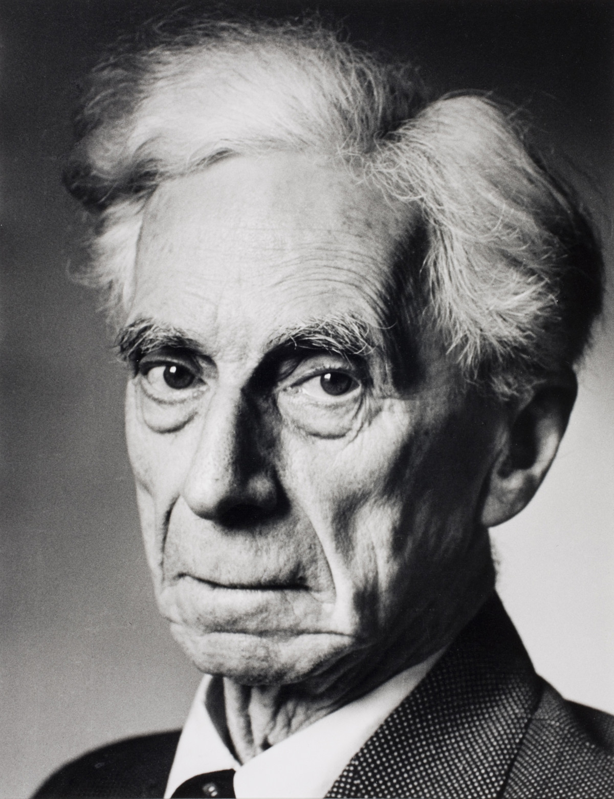 Bertrand Russell, London, England, 1951.