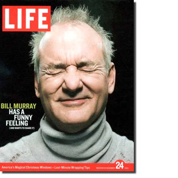 Bill Murray on the LIFE magazine covers