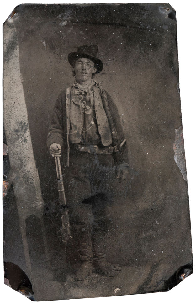 Billy the Kid most expensive photographs in history