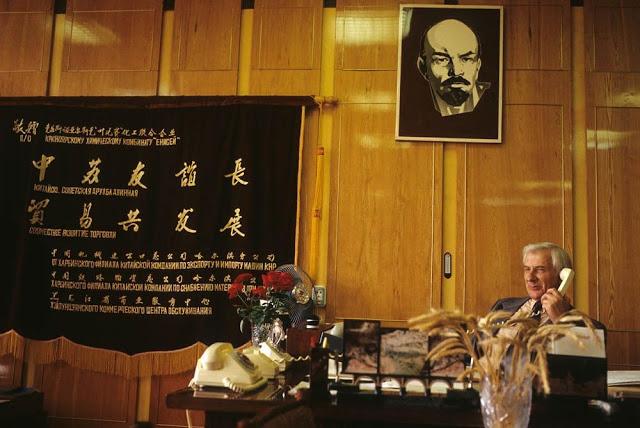 CEO of Krasnoyarsk Chemical Plant, 1993