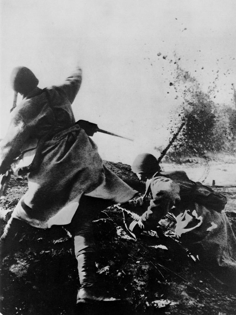 Close-quarters combat. Battle of Moscow