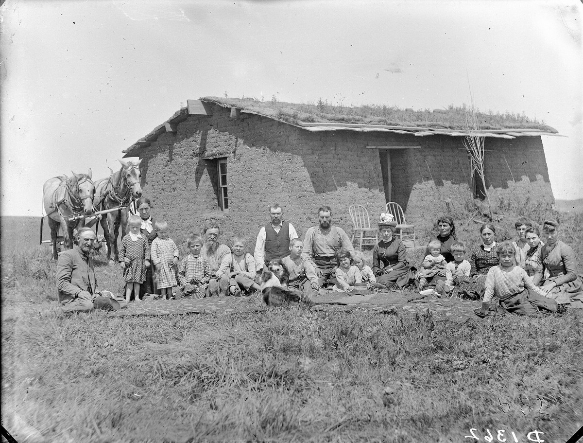 Custer County, near Ansley, Nebraska, 1888.