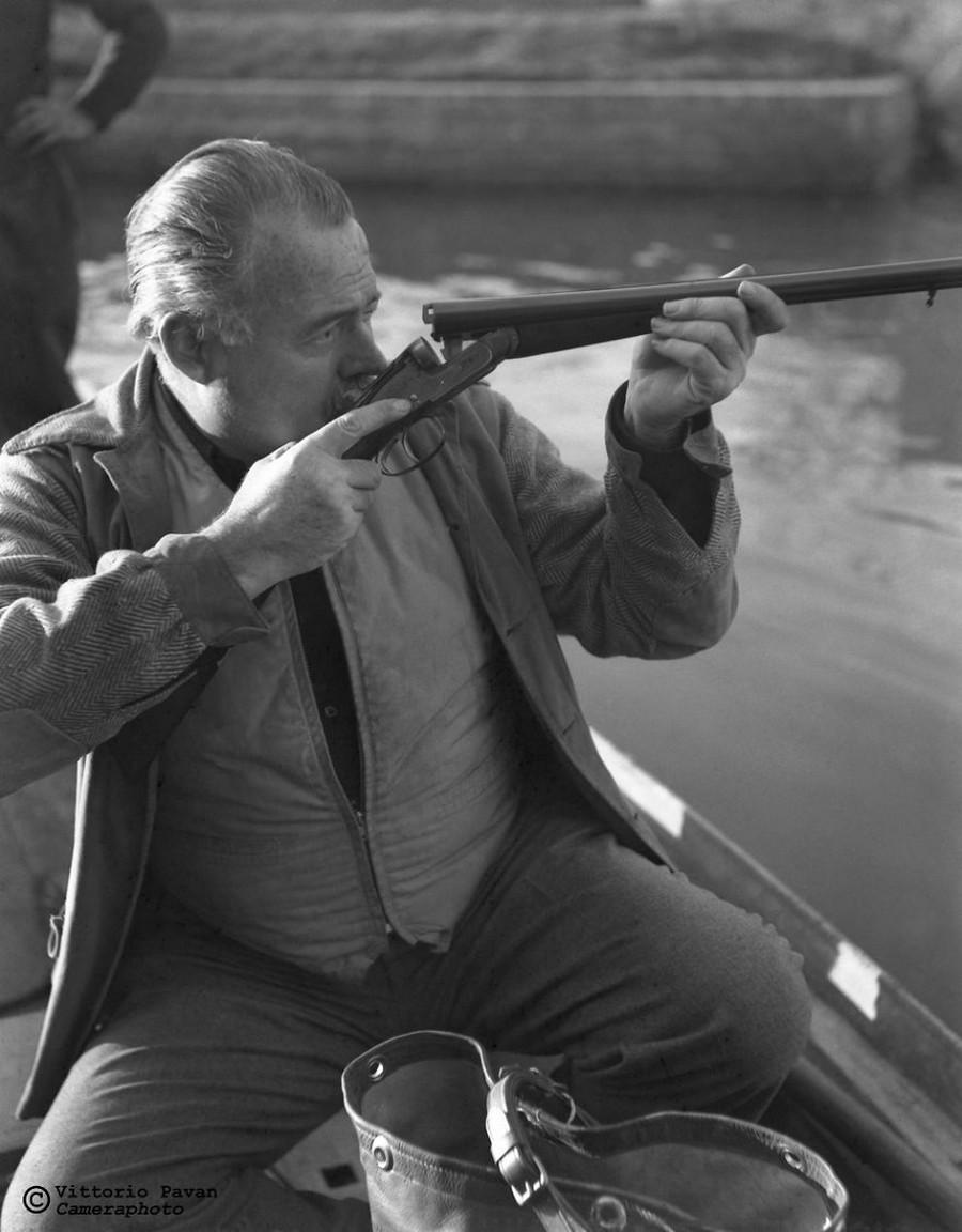Ernest Hemingway in Venice