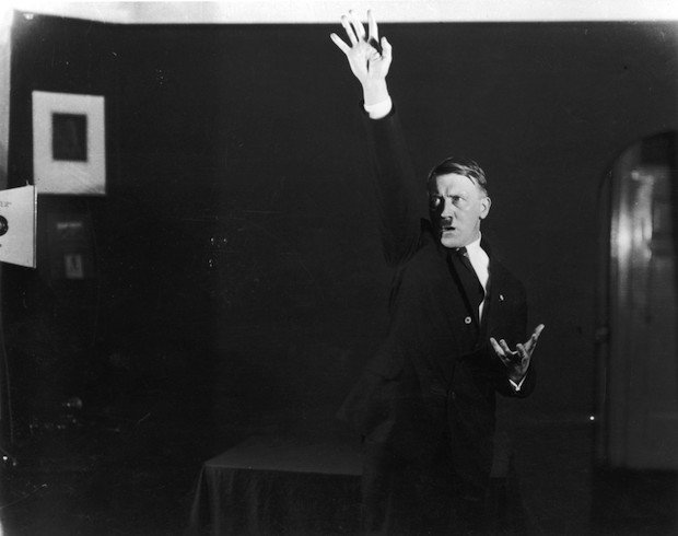 Famous gesture of the Furer