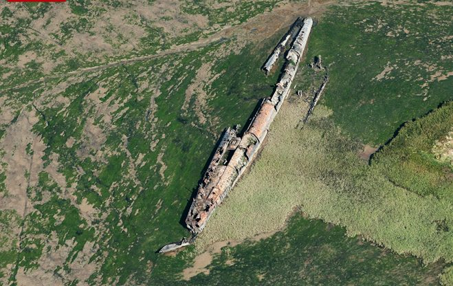 German WWI submarine UB122 that spent 92 years under water