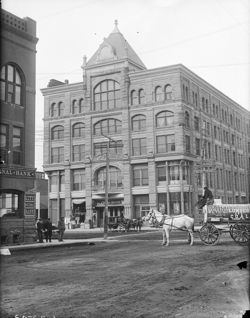 Kearney Opera House, Nebraska, 1910.