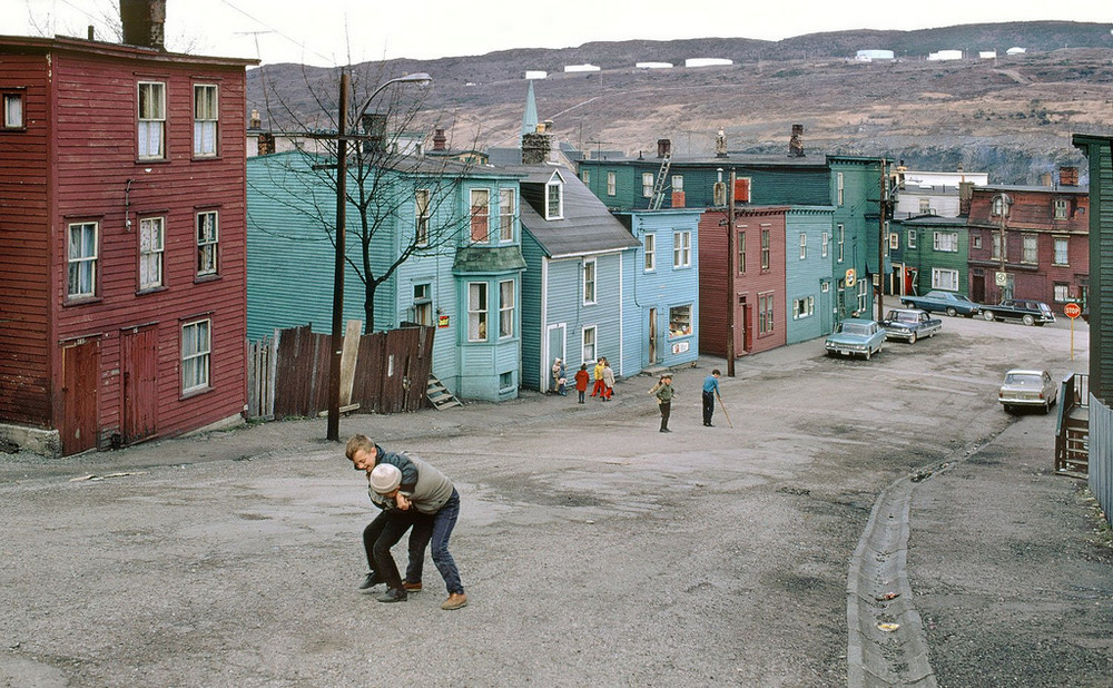 Kids playing in Vancouver, 1950s