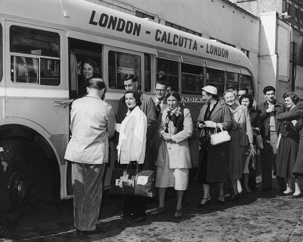 London - Calcutta: the longest bus route in history
