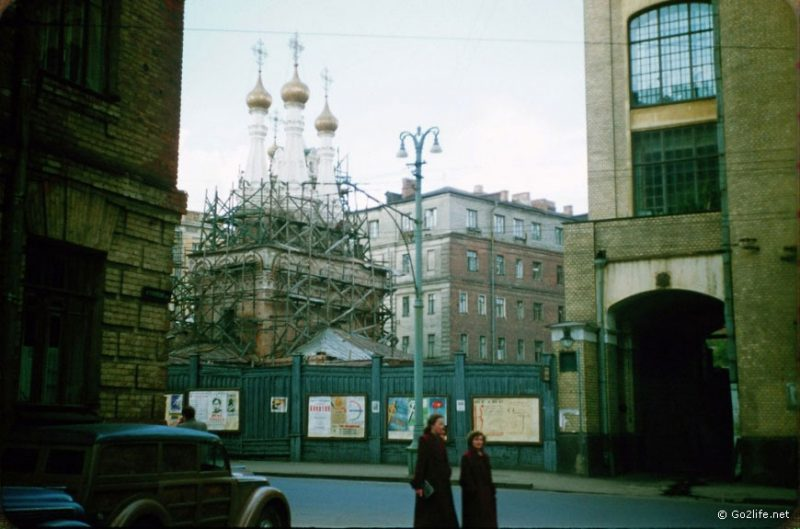 Many churches and cathedrals were destroyed during the Soviet rule.