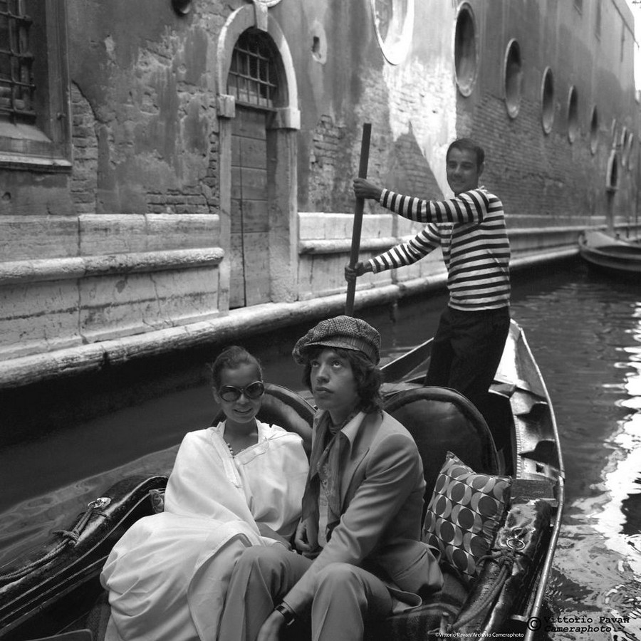 Venice pictures Mick Jagger