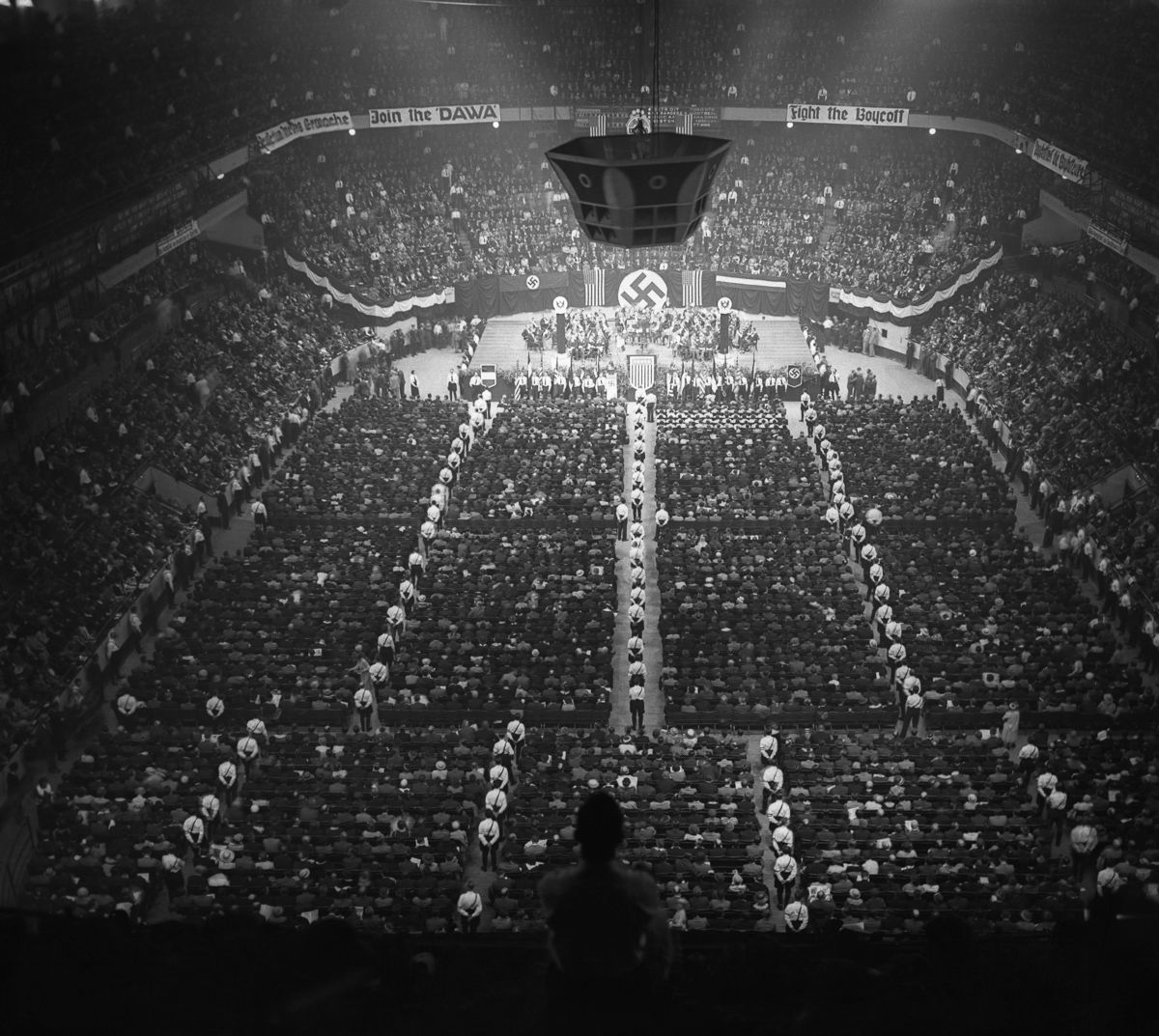 Nazi Rally in Madison Square Garden in pictures