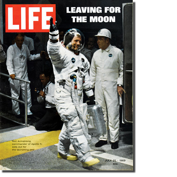 Neil Armstrong LIFE magazine covers