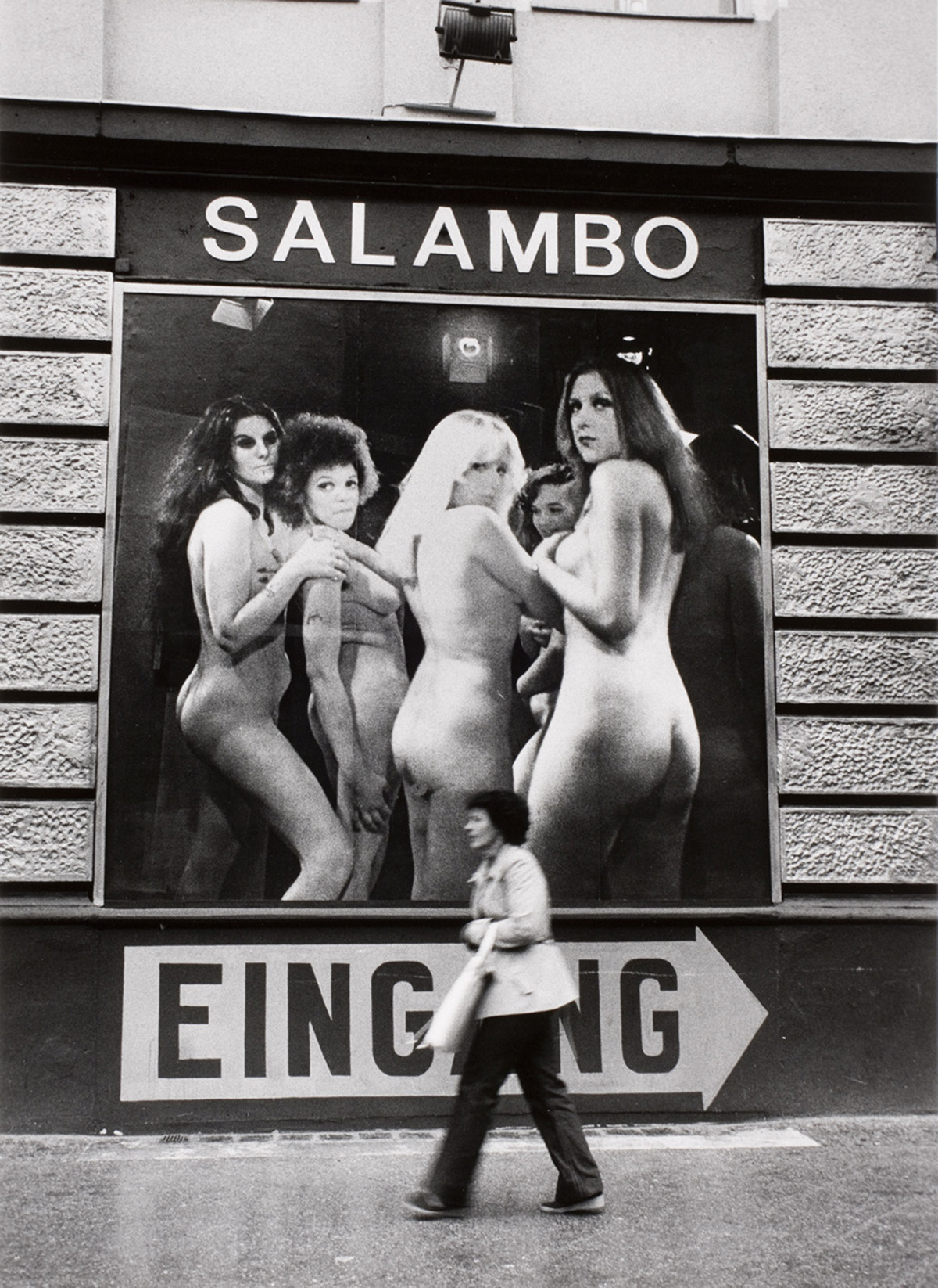 Alfred Eisenstaedt photos of  Nightclub Salambo in West Berlin, Germany, 1979.