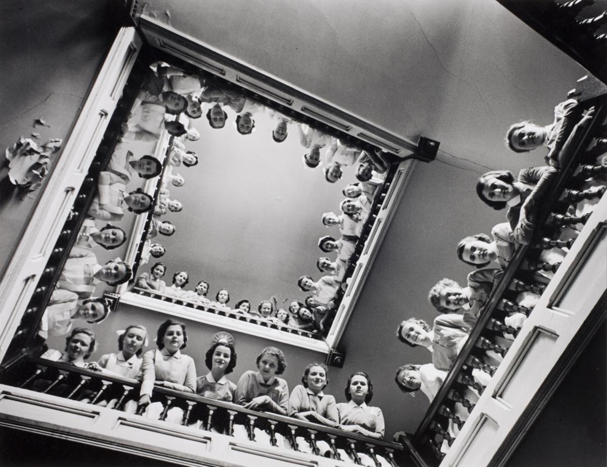 Nursing students at Roosevelt Hospital, New York, 1938.