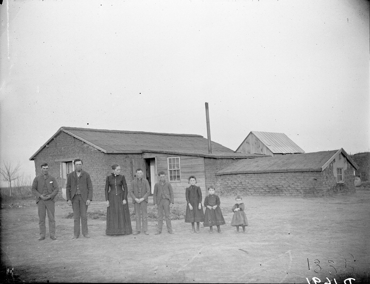 People of Southwest Custer County, Nebraska, 1892.