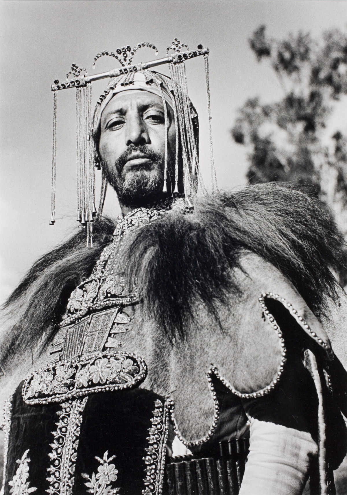 Alfred Eisenstaedt photos of  Professional hunter Haile Selassie in Addis Ababa, Ethiopia, 1935.