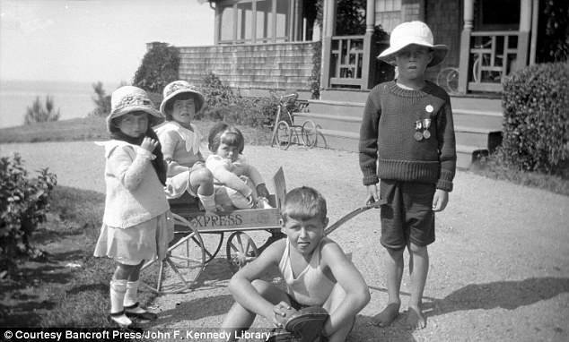 Rosie (standing) with her two older brothers, and her younger sisters Kathleen and Eunice