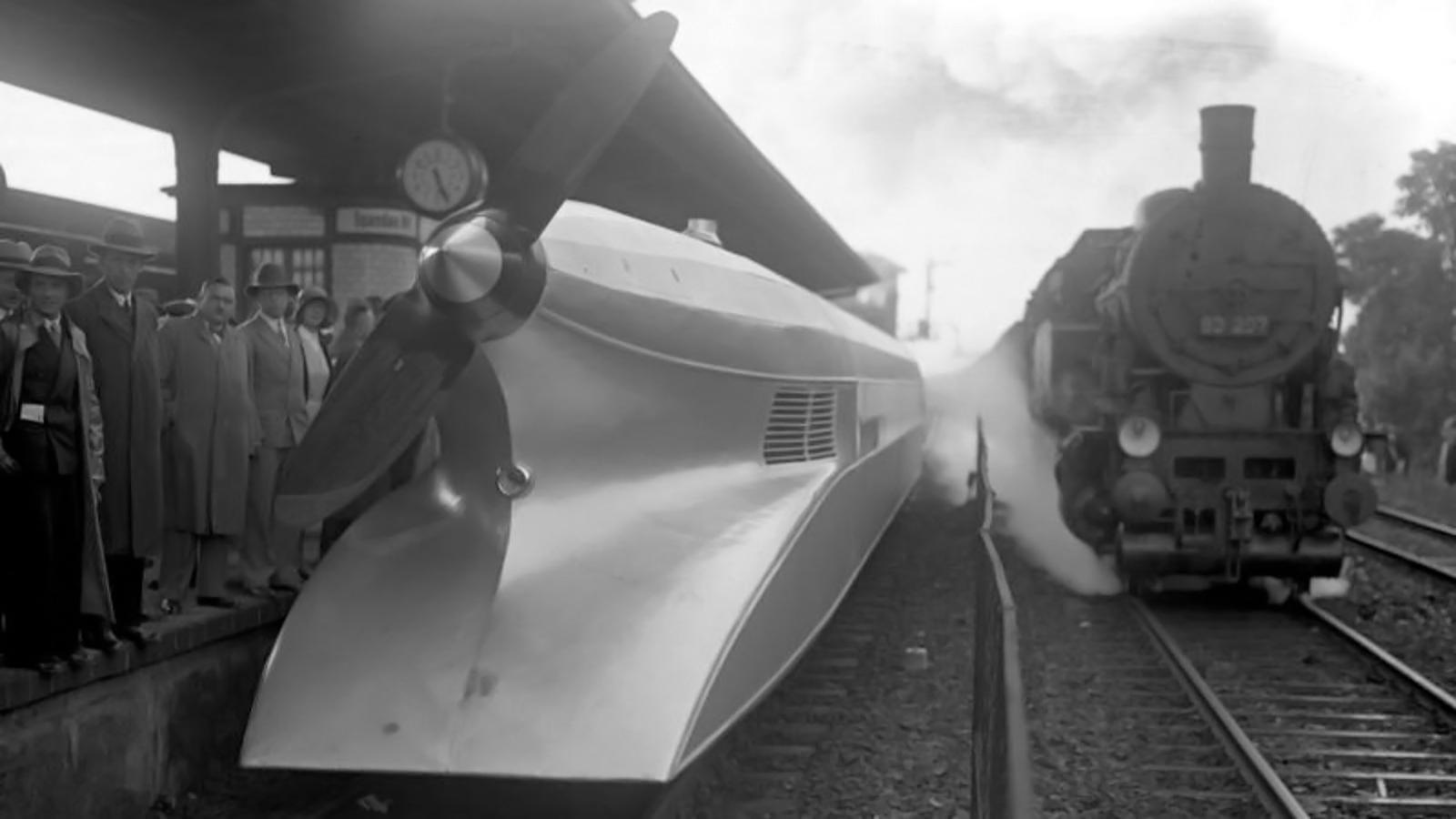 Schienenzeppelin- the Rail Zeppelin, June 1931
