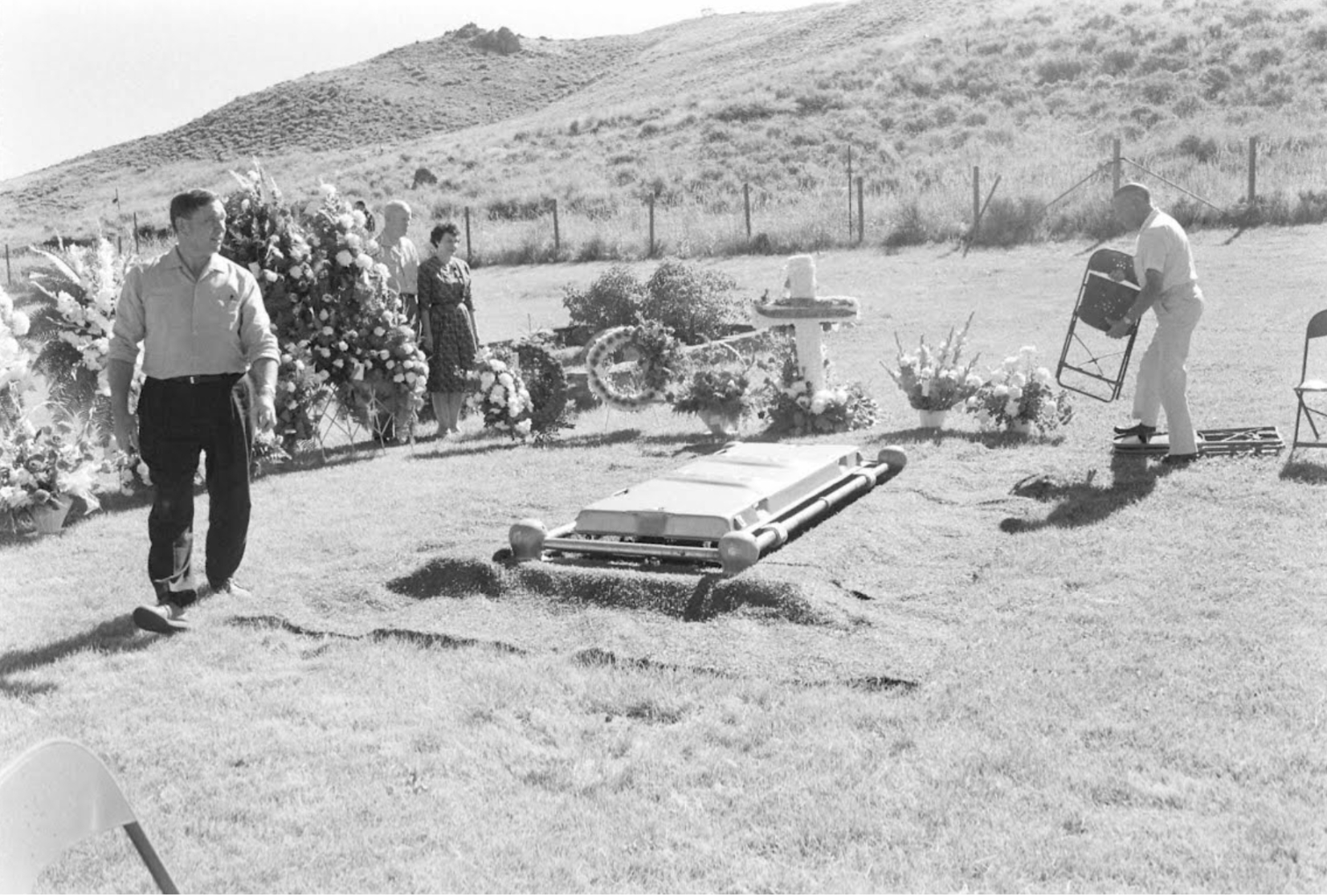 The tomb of Ernest Hemingway