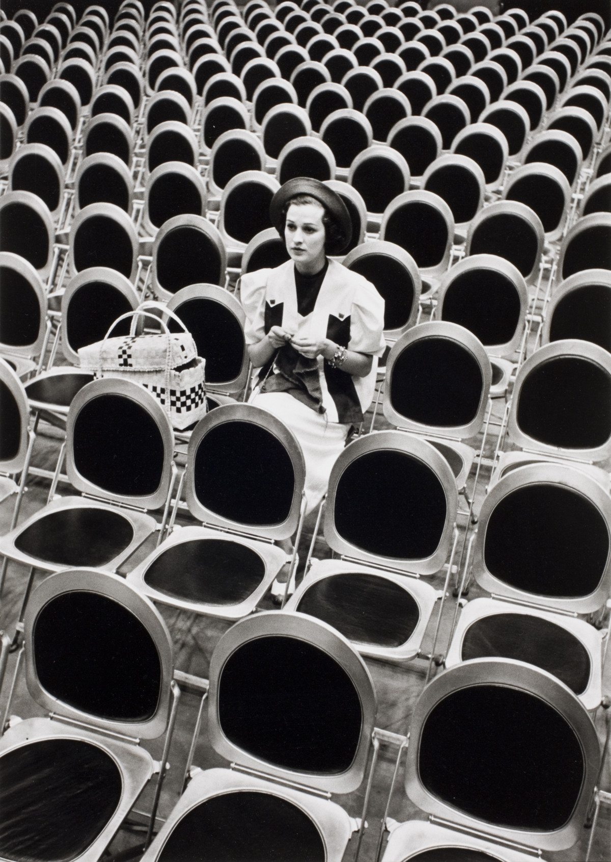 Alfred Eisenstaedt photos of  Singer Jane Foreman at NBC 4H Studios in New York, 1937.