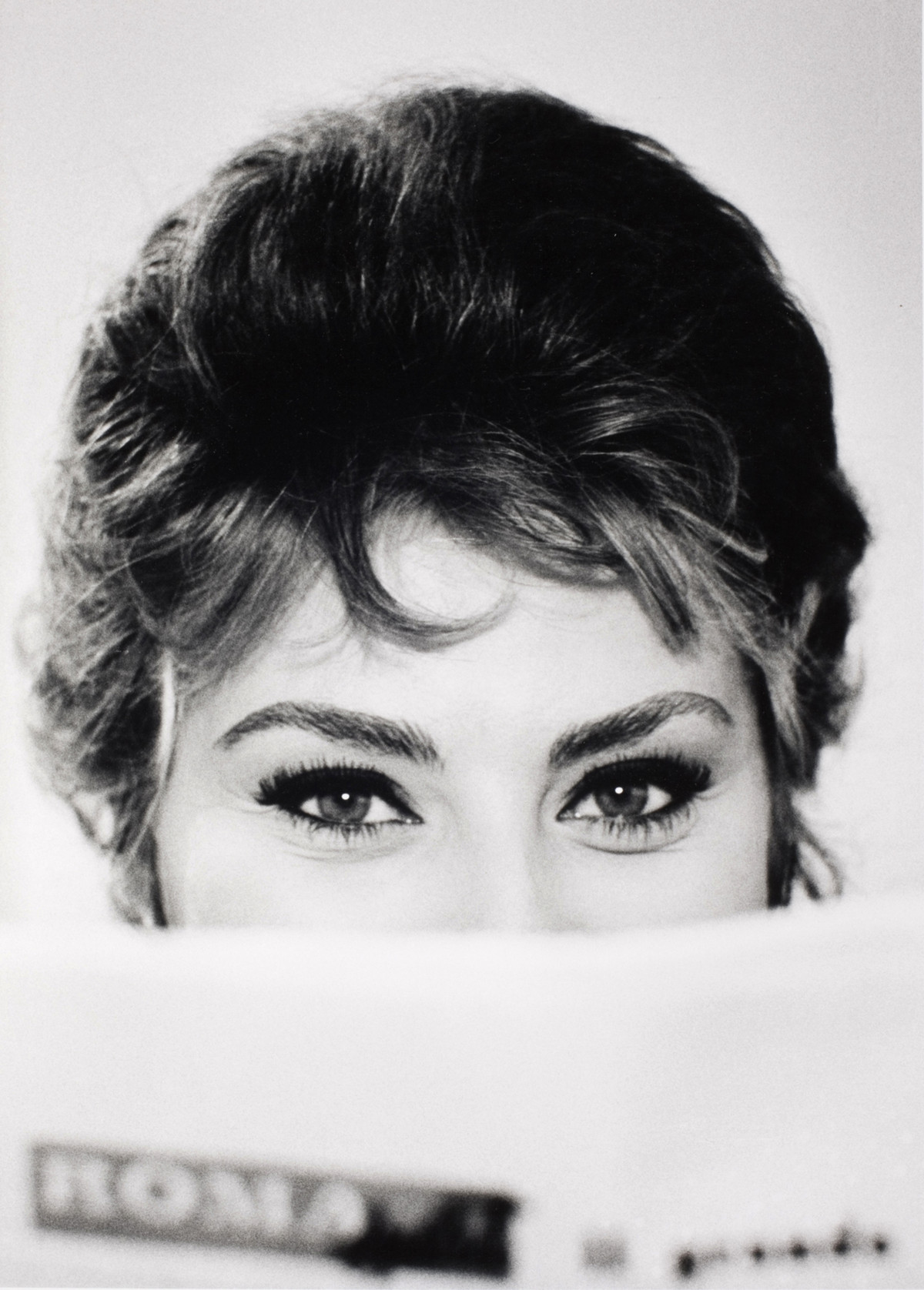 Alfred Eisenstaedt photos of  Sophia Loren, Rome, Italy, 1961.