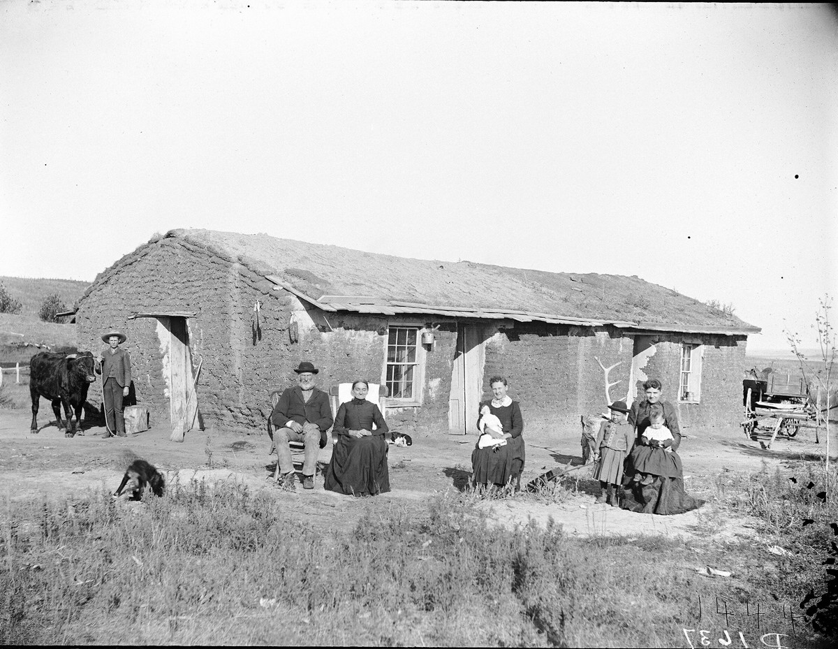 Southwest Custer County, Nebraska, 1892.