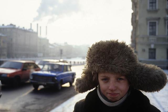 St.Petersburg kid, Russia of the 1990s