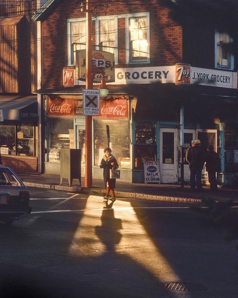 Streets of Vancouver in the 1960s