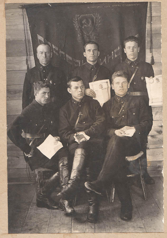The NKVD team with honors, 1928. Usually, NKVD memebers recieved honors for either executing people or tourtoring them during the short trial