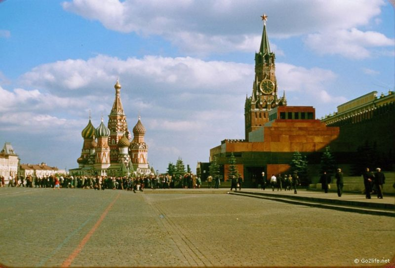 The Red Square, Moscow, 1950s