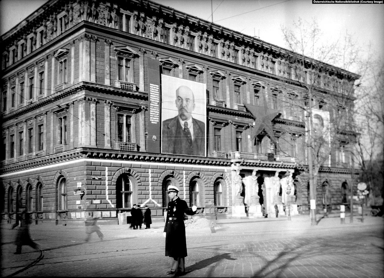 The building where Russian administration was located