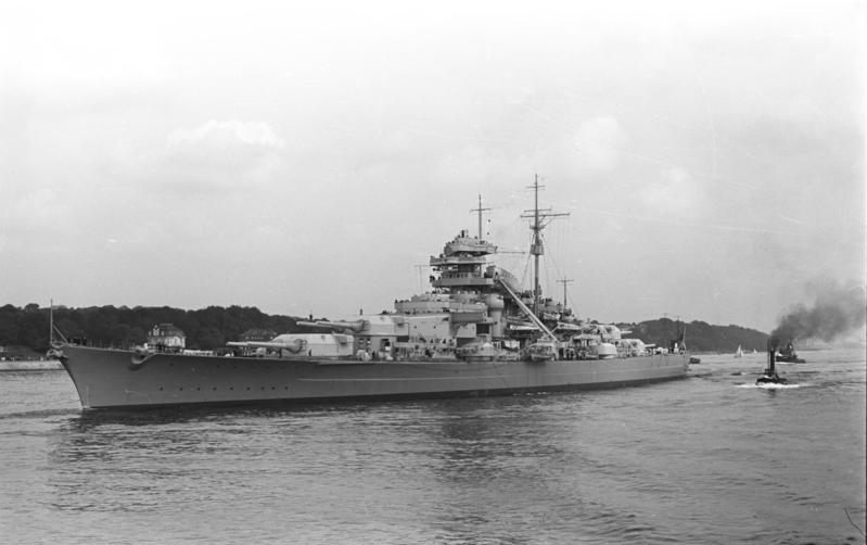 Battleship Bismarck was the first ship of the Unsinkable Sam cat