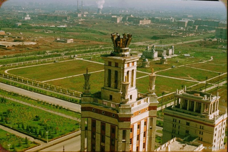 The monumental construction was a signature urbanist approach during Joseph Stalin rule
