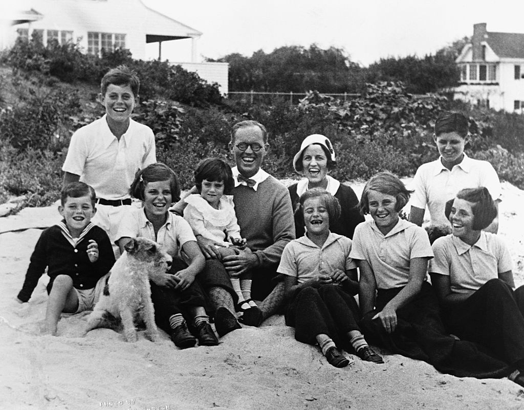 The perfect Kennedy family. Rosemary is on the far right
