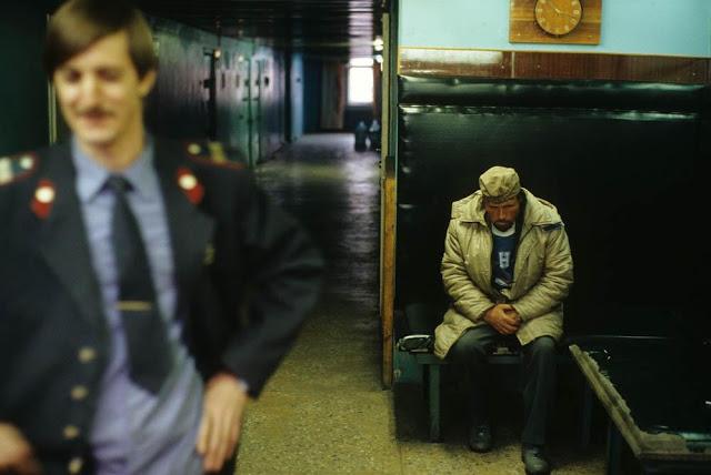 The police department, Norilsk, 1993