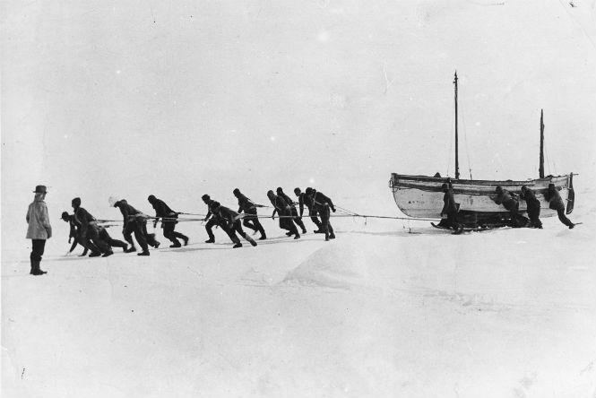 Not so incredible part of the Shackleton's voyage with no Endurance