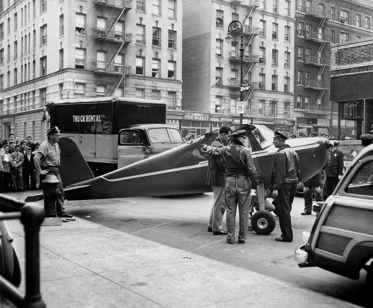 Thomas Fitzpatrick- the pilot who landed twice on the streets of New York.