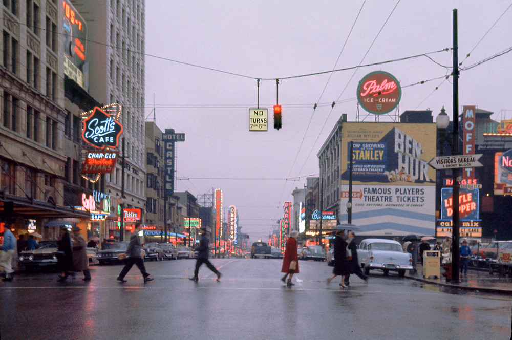 Vancouver in 1960s