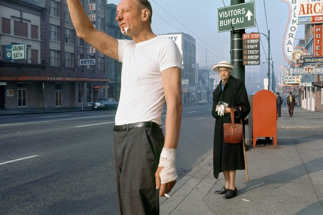 Vancouver of the 1950s and 60s through the lens of Fred Herzog