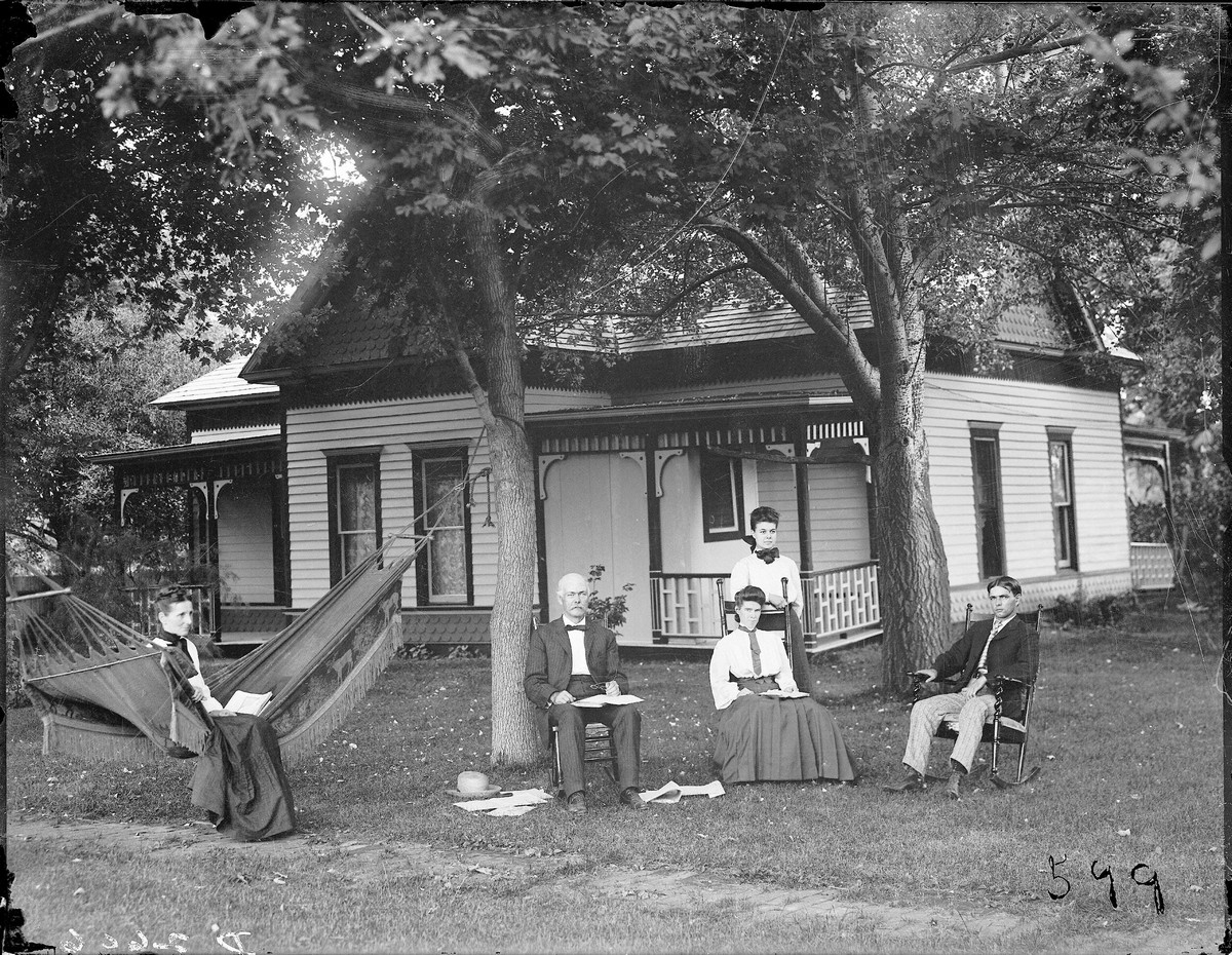 W.L. Hand Residence, Carney, Nebraska, 1911.