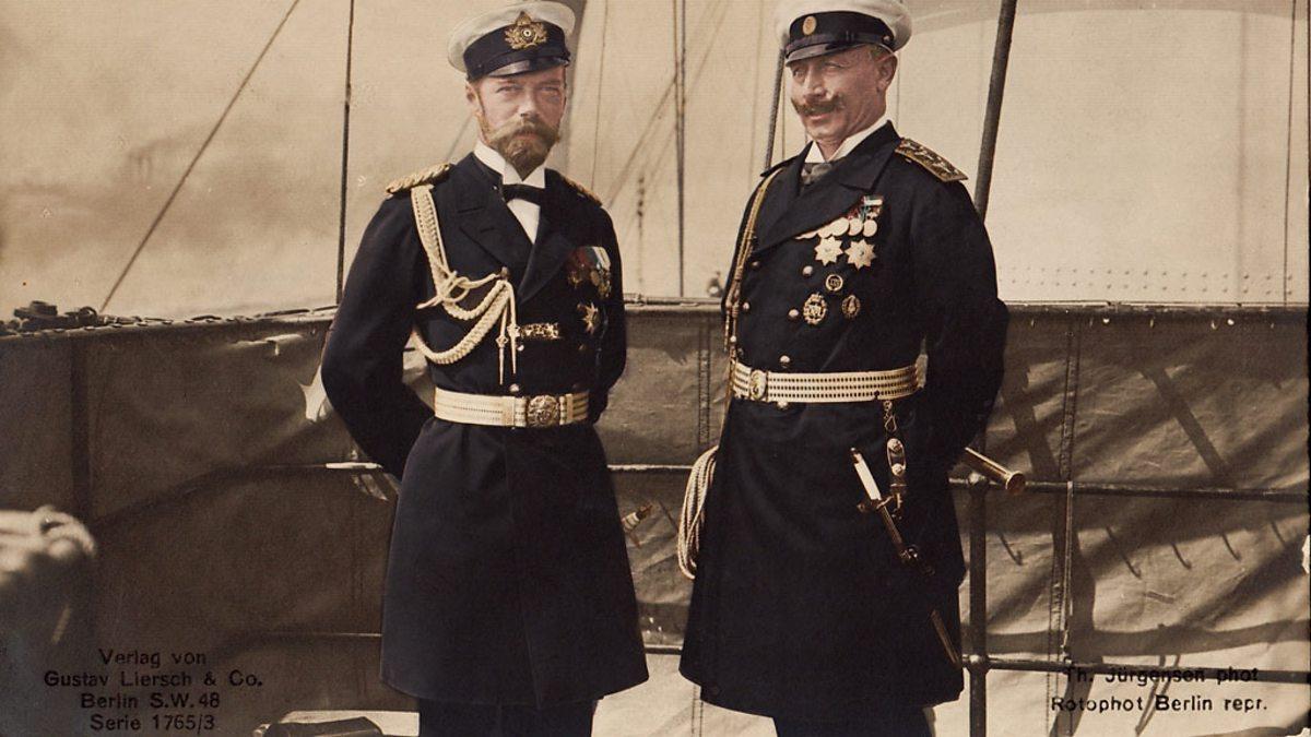 Willhelm II and Nicholas II